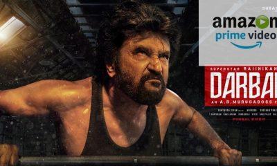 Darbar Movie Amazon Prime Video