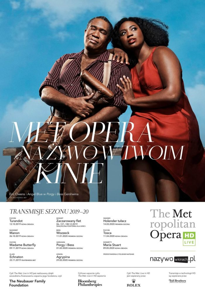 Metropolitan Opera 2019-20 Season: Porgy and Bess