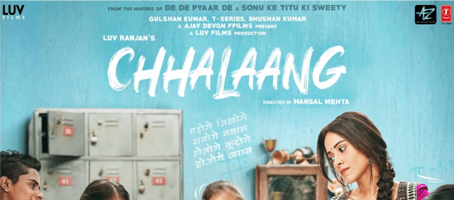Chhalaang Hindi Movie