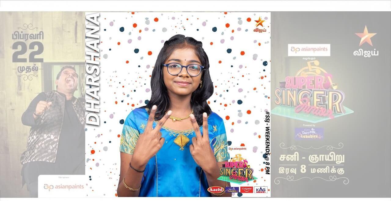 Dharshana Super singer