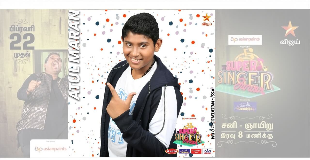 atul maran super singer