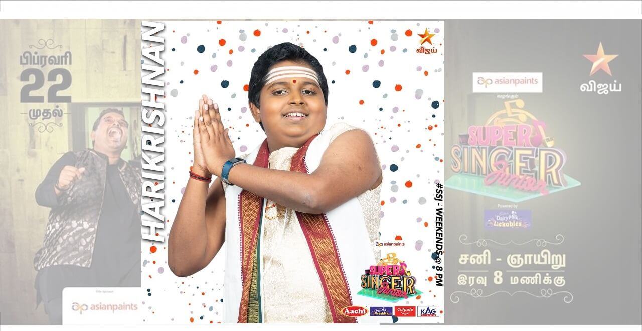 harikrishnan super singer