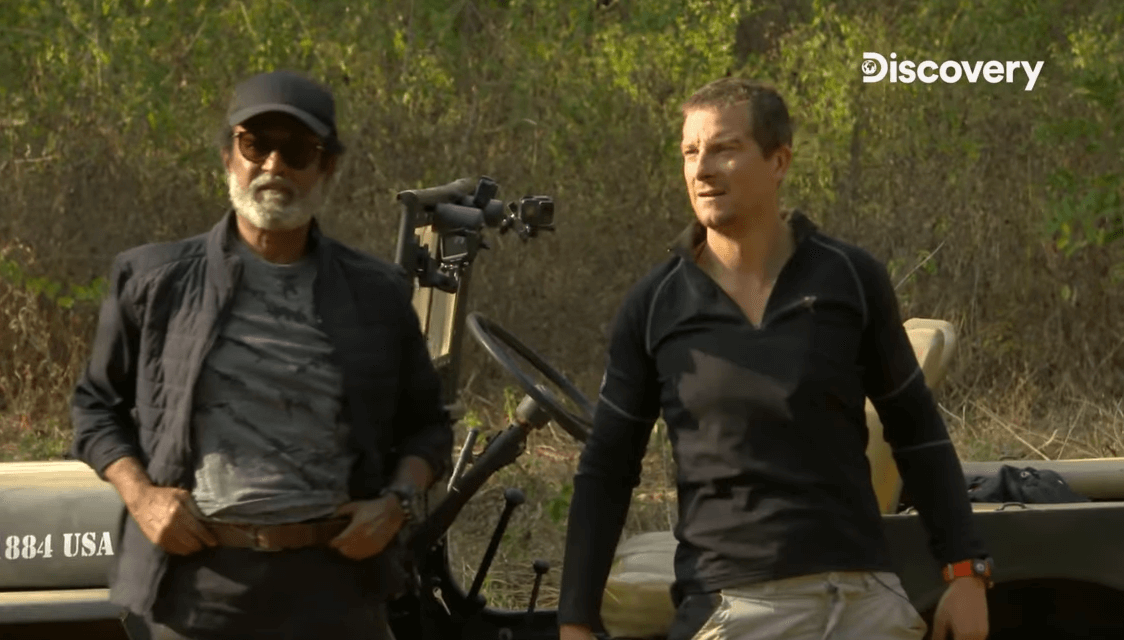 Man vs Wild Rajinikanth