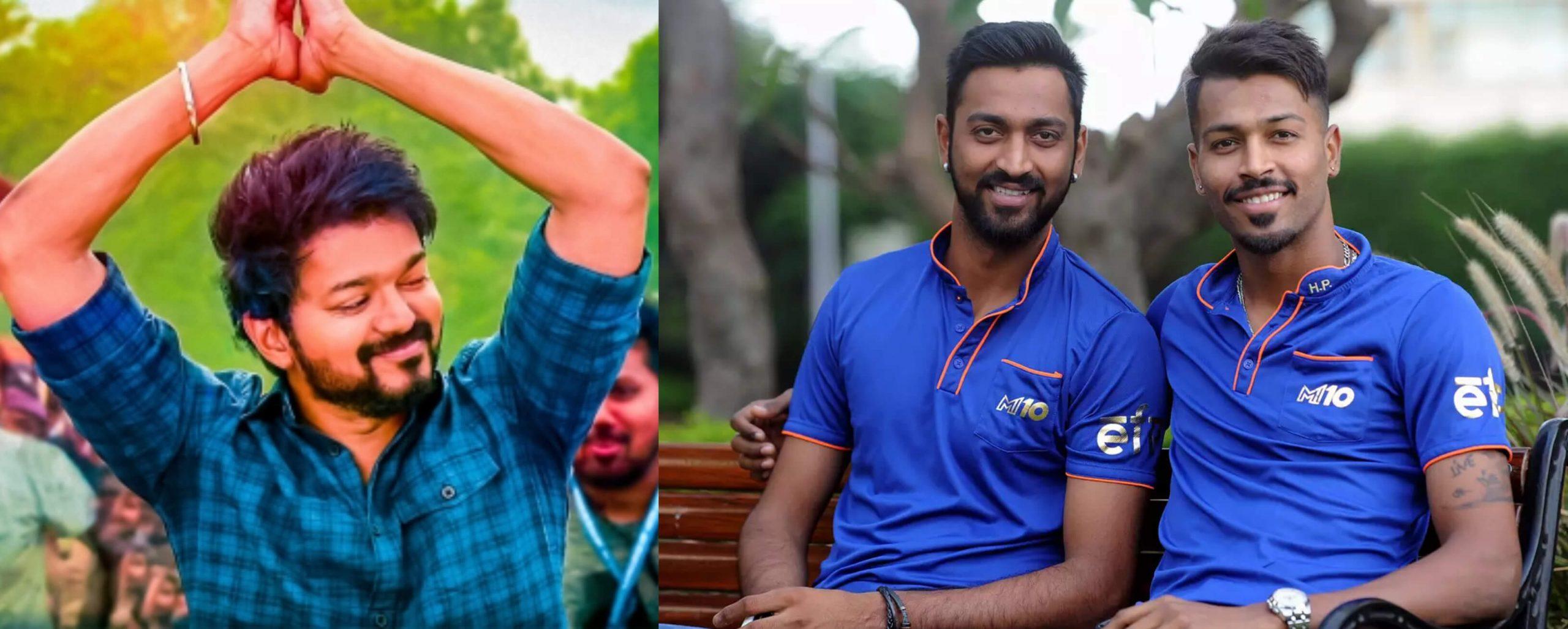 Pandya Brothers Video for Vijay Song