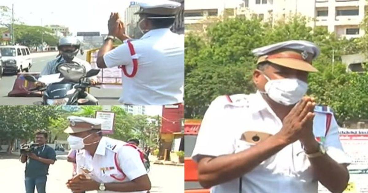 chennai traffic police officer Rashid