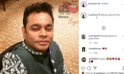 AR Rahman Instagram Live