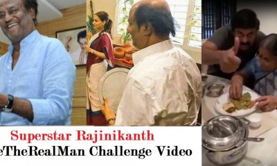 Superstar Rajinikanth Challenge Video