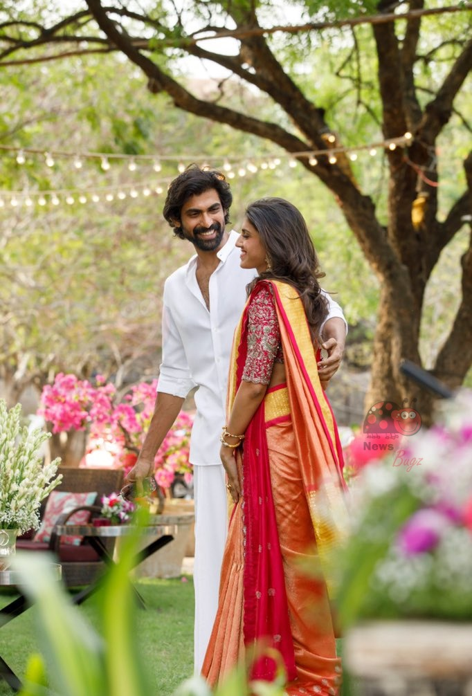 Rana Daggubati Miheeka Bajaj Wedding Photos
