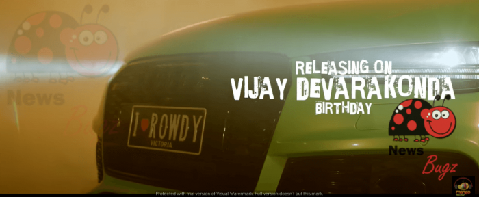 Vijay Deverakonda Rowdy Boy Song