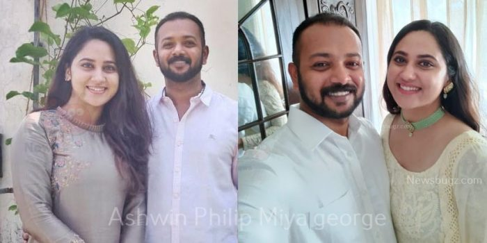 Miya George husband Ashwin philip