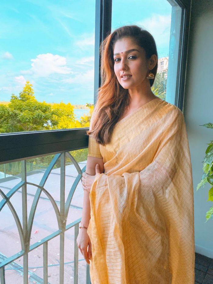 Nayanthara Onam Saree Photo