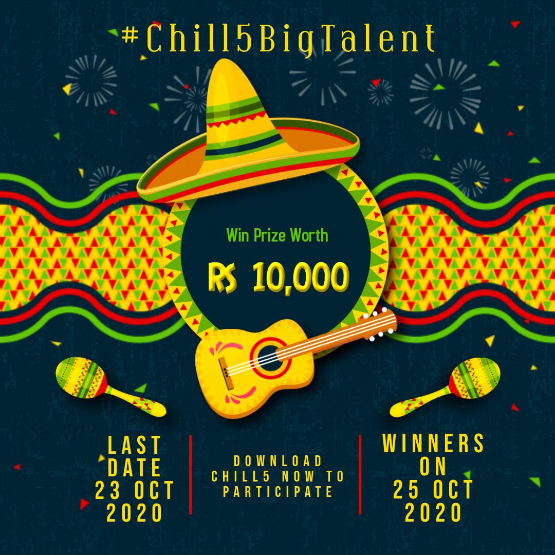 Chill5 Big Talent contest