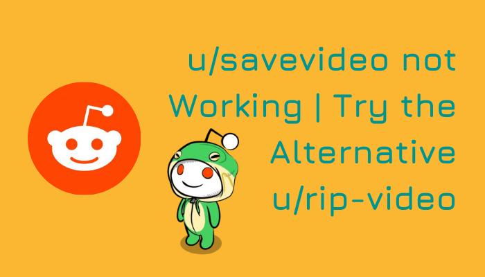 u/savevideo not working