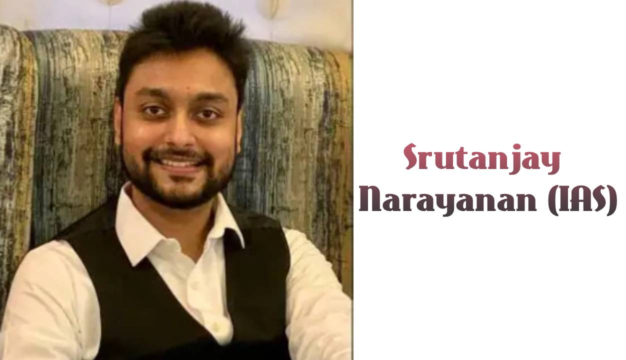 Srutanjay Narayanan IAS